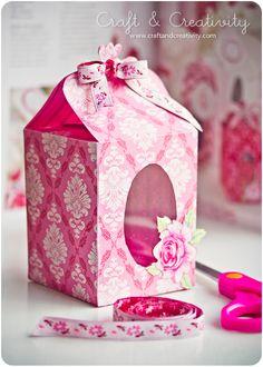 Paper gift box.
