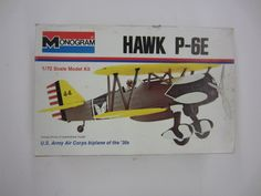 Monogram 6794 1/72 HAWK P-6E Plastic Model Airplane Kit | eBay