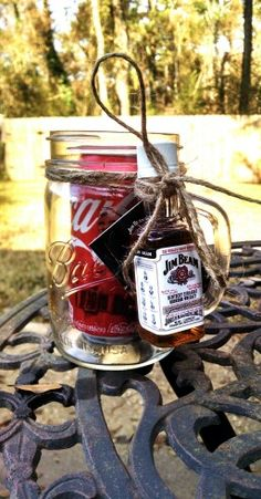 Dirty Santa Gift Idea, Mason jar gift