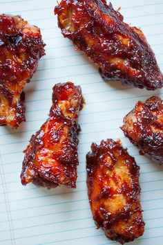 Korean Fried Chicken with sweet and spicy sauce. Photo and recipe by Irvin Lin of Eat the Love. http://www.eatthelove.com