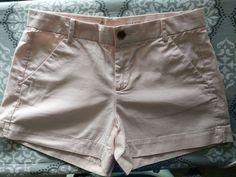 Authentic GAP LIGHT PINK CAMEO Sunkissed  Shorts Size 0 #GAP #CasualShorts