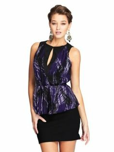 GUESS by Marciano Women's Plumeria Top.