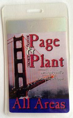 Page and Plant