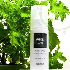 Recenzja naturalnego toniku dla mężczyzn od  WISE.
