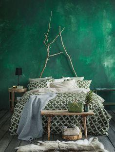 Osez le vert émeraude dans votre intérieur ! Plus