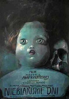 Polish film poster by Wiktor Sadowski $400