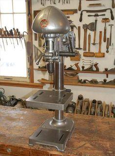 Delta Rockwell Drill Press Model 15 000 Vintage Floor