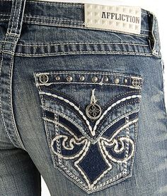 Affliction Jade Cathedral Boot Stretch Jean #buckle #fashion #jeans www.buckle.com
