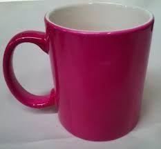 Image result for pink mug Grey Office, Mugs, Tableware, Pink, Google Search, Dinnerware, Tumblers, Tablewares, Mug