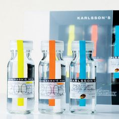 Karlsson's Vodka is a gluten free Swedish vodka that looks different because it is different. This is vodka single distilled and made from premium potatoes. Vodka designed to have flavor. Vodka worthy to be served on the rocks, no mixers required.