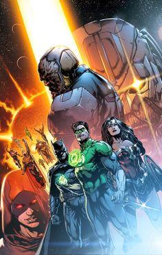 Geoff Johns revela detalhes surpreendentes da nova saga da Liga da Justiça: DARKSEID WAR