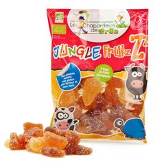 Bonbon bio Jungle Fruizz aux fruits - Les Chapardeurs de Grün