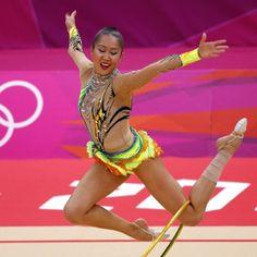 Best rhythmic gymnastics outfits of the London 2012 Olympics - Azerbaijan - Telegraph