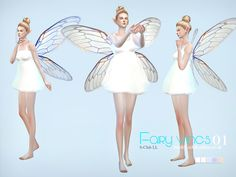 Fairy wings for you, you can find it in hat  Found in TSR Category 'Sims 4…