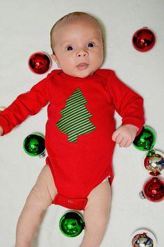 Cute and simple Christmas onesie