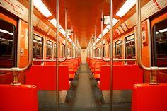 Helsinki Metro interior