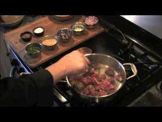 Guiso de carne con mani - Beef Stew in Peanut Sauce CC