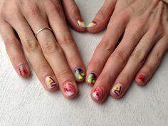 FRANK STELLAinspired nail art history