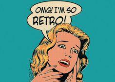 SO RETRO T-shirt Design by Mathiole