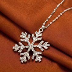 This is a great hit: Snowflake Necklace Its on Sale! http://jagmohansabharwal.myshopify.com/products/snowflake-necklace?utm_campaign=social_autopilot&utm_source=pin&utm_medium=pin