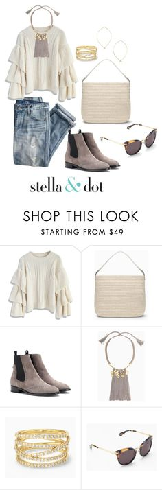 """Weekend Wear Inspiration"" by kelly-manley-taylor on Polyvore featuring J.Crew, Chicwish, Stella & Dot, Balenciaga and stelladotstyle"