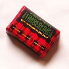 "Pinecone Lodge's ""Timberline"" - Outdoorsman's Body Soap"