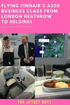 Finnair was the 1st European carrier to fly the Airbus A350, a plane that's revolutionising the flying experience. Mainly used for long-haul flights, Finnair is using it on some Heathrow to Helsinki flights and we took one of these to experience the Finnair A350 Business Class.