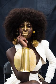 Celebrating the many shades of our African diaspora. Afropunk Paris, Afro Punk Fashion, Afro Girl, Art Of Beauty, African Diaspora, Art Abstrait, African Beauty, Black Power, Afro Hairstyles
