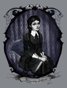Wednesday Addams by IrenHorrors.deviantart.com on @deviantART