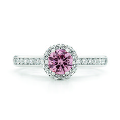York Jewellers pink diamond ring