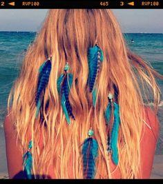 Topanga plumas azules ibiza