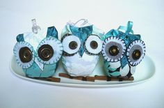 owl ornaments!  @Shae Williams