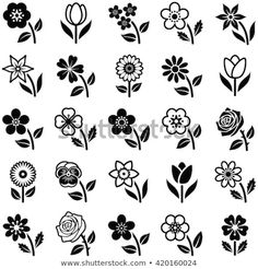 Find Flower Icon Collection Vector Illustration stock images in HD and millions of other royalty-free stock photos, illustrations and vectors in the Shutterstock collection. Thousands of new, high-quality pictures added every day. Flower Doodles, Icon Collection, Art Plastique, Mandala Art, Mehndi Designs, Doodle Art, Flower Patterns, Flower Art, Embroidery Patterns