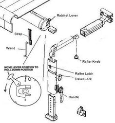 dometic rv awning parts diagram