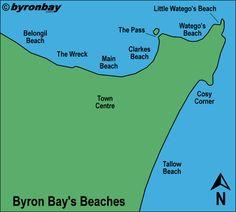 Description of Byron Bay's Beaches | Official byronbay.com Guide