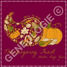 Geneologie | Greek Tee Shirts | Greek Tanks | Custom Apparel Design | Custom Greek Apparel | Sorority Tee Shirts | Sorority Tanks | Sorority Shirt Designs  | Sorority Shirt Ideas | Greek Life | Hand Drawn | Sorority | Sisterhood | Thanksgiving Feast | Food Function | Cornucopia | Pumpkin | November |  Alpha Chi Omega