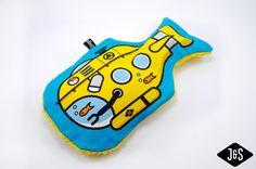 Wärmflaschen - U-Boot Wärmflasche (Bezug+0,8l Wärmflasche) - ein Designerstück von Jungs-und-Soehne bei DaWanda