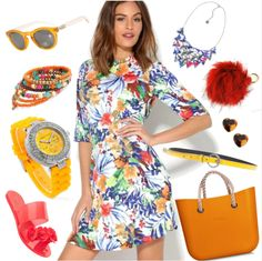 Vo farbách leta Wrap Dress, Floral, Casual, Outfits, Collection, Dresses, Fashion, Latest Fashion, Shopping