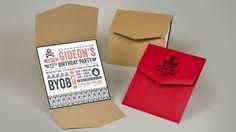 Gideon Hallgrey Birthday Invitation