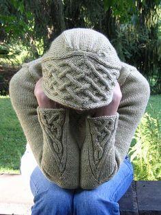Ravelry - Rogue hoodie knitting pattern