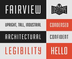 Fairview font, from the Lost Type Co-op. This is a great pay-what-you-want type foundry with beautiful and professional-looking fonts.