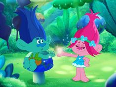 Let's swing it! Poppy And Branch, Troll, Princess Peach, Sonic The Hedgehog, Poppies, Fandoms, Kawaii, Let It Be, Movie