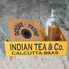 Caja de madera Indian Tea & Co ya en UBOshop por 19,95€ http://www.unabodaoriginal.es/es/caja-de-madera-indian-tea.html