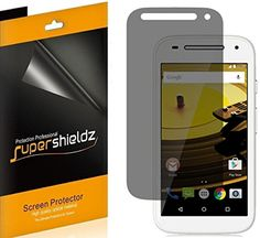 [2 Pack] SUPERSHIELDZ- Privacy Anti-Spy Screen Protector Shield For Motorola Moto E (2nd Gen)   Lifetime Replacements Warranty - Moto E (2nd Generation) 4G LTE - Retail Packaging *** See this great product.