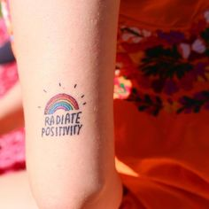 My favourite tattoo ever is this piece of art originally by @dallasclayton ✨ I have met so, so many amazing people over the last year, all of which do exactly this - radiate positivity. So thankful that social media aligned all our paths and created friendships  there is a picnic on tomorrow hosted by @bohemian3hippie at RJ Hamer Arboretum (the same spot where I held if you came back at the start of the year!) at 12pm, it's in Olinda and is beautiful! Lots of new people to meet and fo...