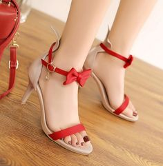 Womens Open Toe Sweet Sandals Bow Stilettos Shoes Causal Pumps Girls FashionSexy #Unbranded #SportSandals