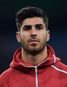 Marco Asensio of Real Madrid looks on prior to the UEFA Champions League Group G match between Real Madrid and CSKA Moscow at Bernabeu on December 2018 in Madrid, Spain. Get premium, high resolution news photos at Getty Images Real Madrid Team, Real Madrid Soccer, Real Madrid Players, Soccer Guys, Football Players, Real Madrid Atletico, Germany National Football Team, Real Madrid Wallpapers, Santiago Bernabeu