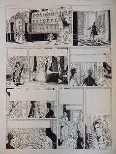 Paques, Olivier - Originele pagina (p.28) - Loïs - Monsieur, frère du Roi - W.B.