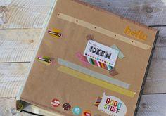Ideen Ordner / zum Sammeln, Aufheben und Sortieren aller Ideen und Einfälle / was eigenes Blog / DIY