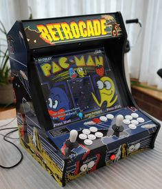 The bartop arcade is equally as fun as a full-size and perfect for some space… Retro Arcade, Arcade Game Room, Arcade Games, Arcade Bartop, Computer Video Games, Fire Emblem Awakening, Arcade Machine, Travel Design, Pinball